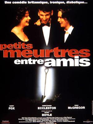 Affiche de Petits meurtres entre amis, réalisé par Danny Boyle (1994)