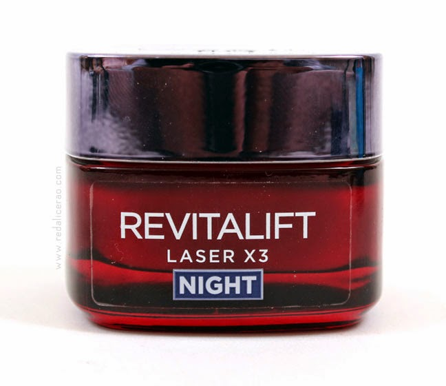 L'Oreal Revitalift Renew X3, Night Cream, Anti aging cream, Skin miracle, Younger looking skin, younger looking face, red alice rao, redalicerao, beauty product, beauty blog, Top Beauty Blog