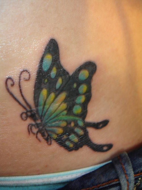 Butterfly Tattoos For Girls On Hip  All About 247