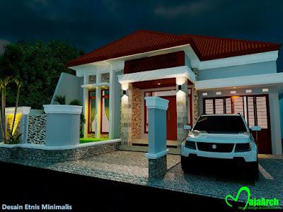 Contoh Desain Rumah Minimalis 2018_02