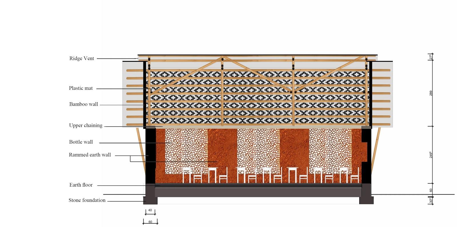 virginie farges architecture cologique corr ze limousin brive limoges maison bois une ecole. Black Bedroom Furniture Sets. Home Design Ideas