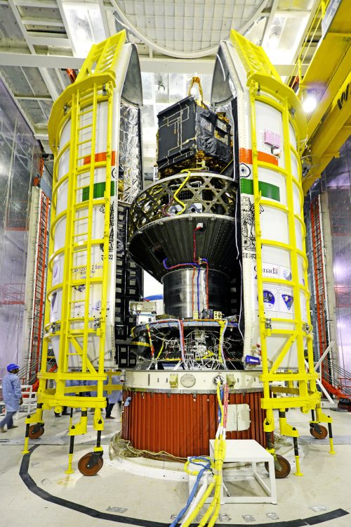 ISRO record launch 20 satellites