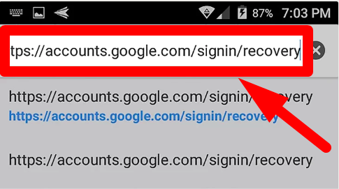 Google Account Recovery for Android