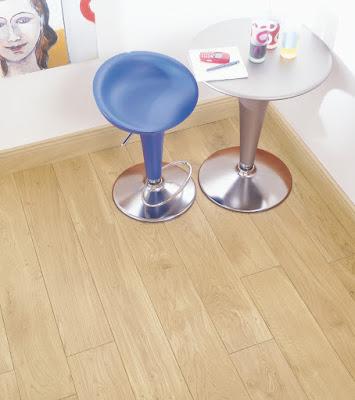 Dřevěná dubová podlah světlá