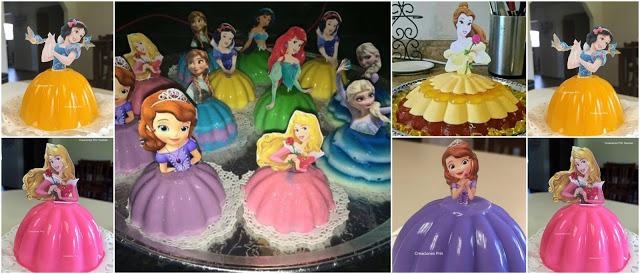 Gelatina-princesas-fiesta-infantil