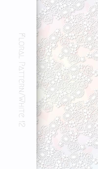 Floral Pattern[Rose]/White12