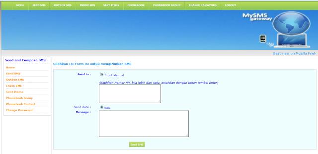 Cara Membuat Gateway SMS berbasis WEB Dengan Codeigniter Gtatis Script & Source Code