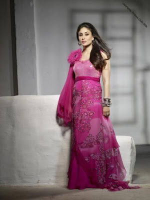 Kareena Kapoor outfit in pure purple is elegance personified, versatility and grace.