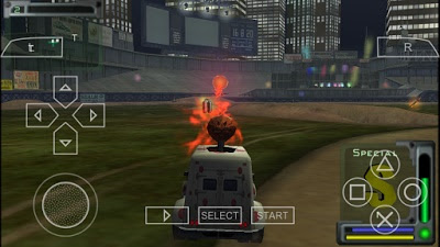 Download Game PPSSPP Offline Twisted Metal: Head-On
