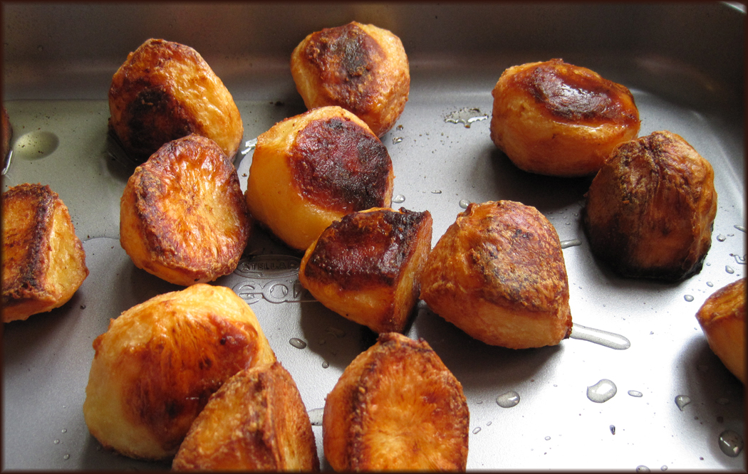 Perfectly Crisp Roast Potatoes