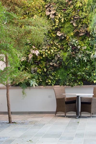 beautiful vertical garden design idea