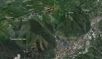 From Bergamo to Monte Poieto