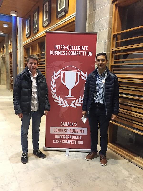 Alumnos del CADE quedaron entre los ganadores del The Inter-Collegiate Business Competition