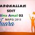 Barokallah, SDIT Bina Amal 02 Berhasil Menyabet Juara MAPSI