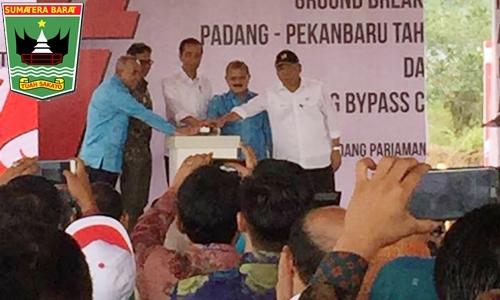 Dampingi Presiden Resmikan Pembangunan Jalan Tol Padang-Pekanbaru, Ini Harapan Gubernur Irwan