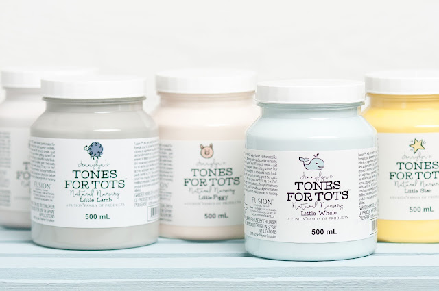 Fusion Mineral Paint Tones For Tots