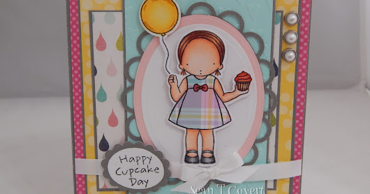 Happy Cupcake Day Card!!