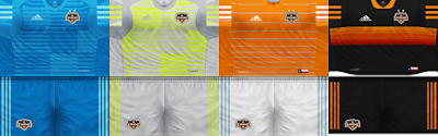 PES 6 Kits Houston Dynamo Season 2018/2019 by Rodry90 Kitmaker