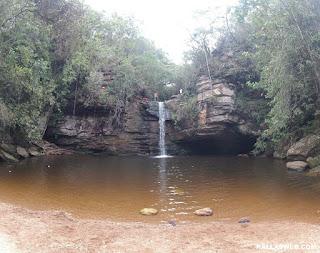 Cachoeira do Lúcio, em Itambé do Mato Dentro/MG.