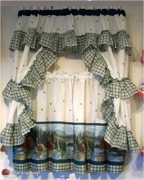 Elegant Kitchen Curtains 18