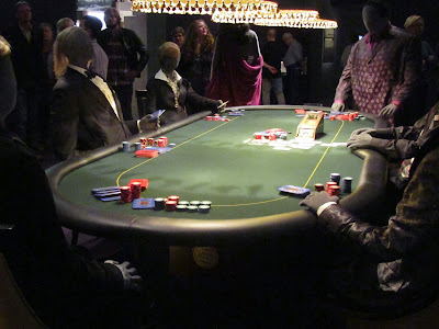 roulette table at Designing 007