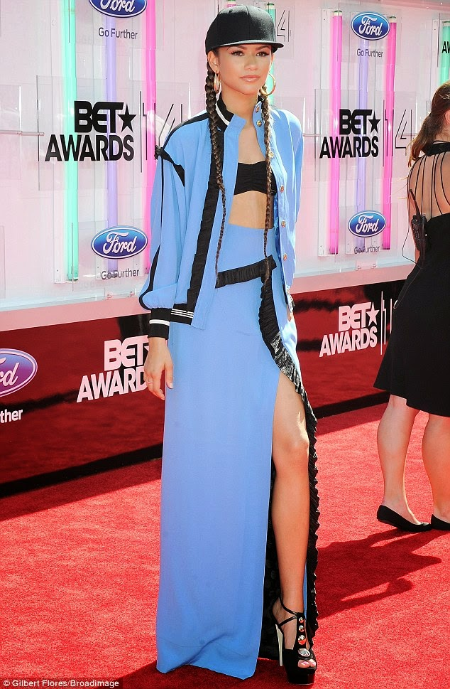 article 2674348 1F40D39800000578 810 634x969 Red Carpet photos from 2014 BET Awards + Full List of Winners