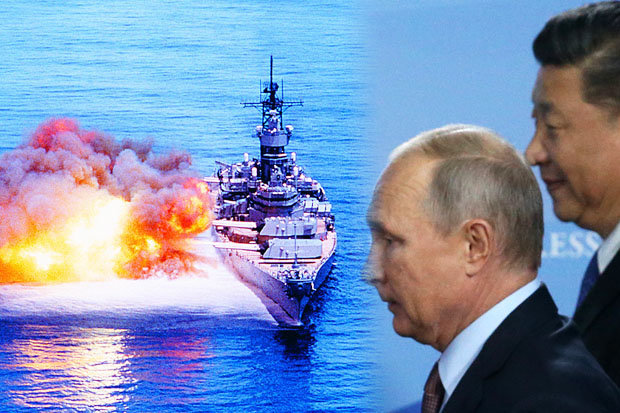 Simulasi Perang Dunia III Tunjukkan AS Kalah Telak dari Rusia dan China