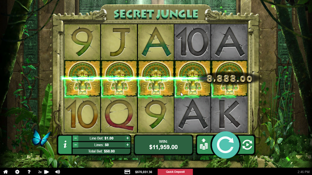 Exotic spins at Sloto'Cash casino