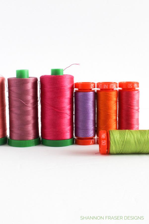 Aurifil Thread | Marble Reverberance Quilt | Shannon Fraser Designs