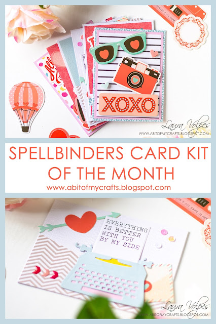 One Kit Five Cards feat Spellbinders January 2019 Card Kit of the Month Pinterest