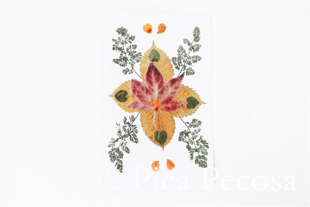 como-hacer-tarjeta-con-hojas-secas-de-otoño-diy-05
