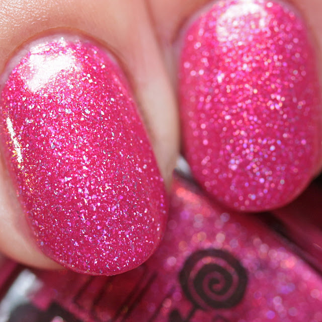 Lollipop Posse Lacquer Eleven Cookies in the VCR