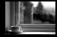 Un triste café