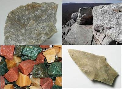 batu kuarsit dan proses pembentukannya