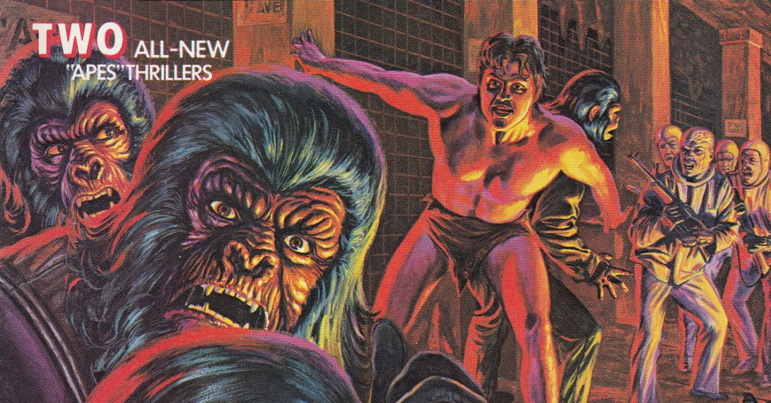 Where Man Once Ruled Supreme - Now Rule The Apes!