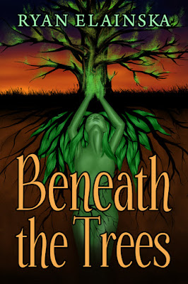 beneath-the-trees, ryan-elainska, book, cover, the-writing-greyhound