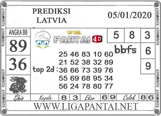 PREDIKSI TOGEL LATVIA PANTAI4D 05 JANUARI 2020