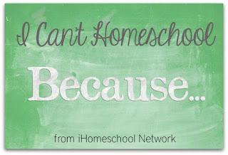 I Can't Homeschool Blog Hop