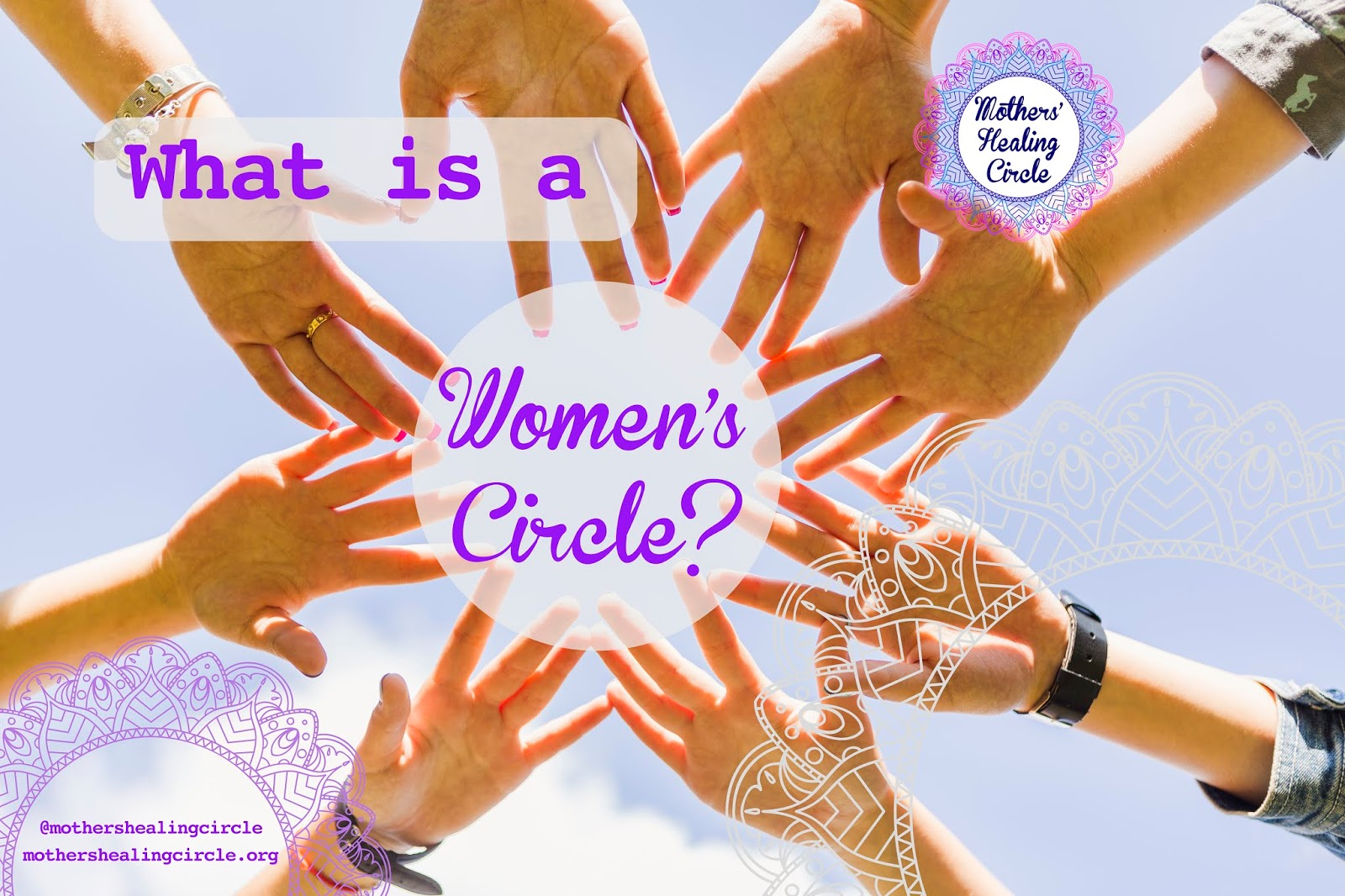 Women's Circles for birth preparation, birth experience healing, transition to motherhood, & divine femininity | Mothers' Healing Circle