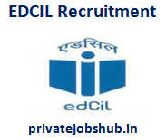 EDCIL Recruitment
