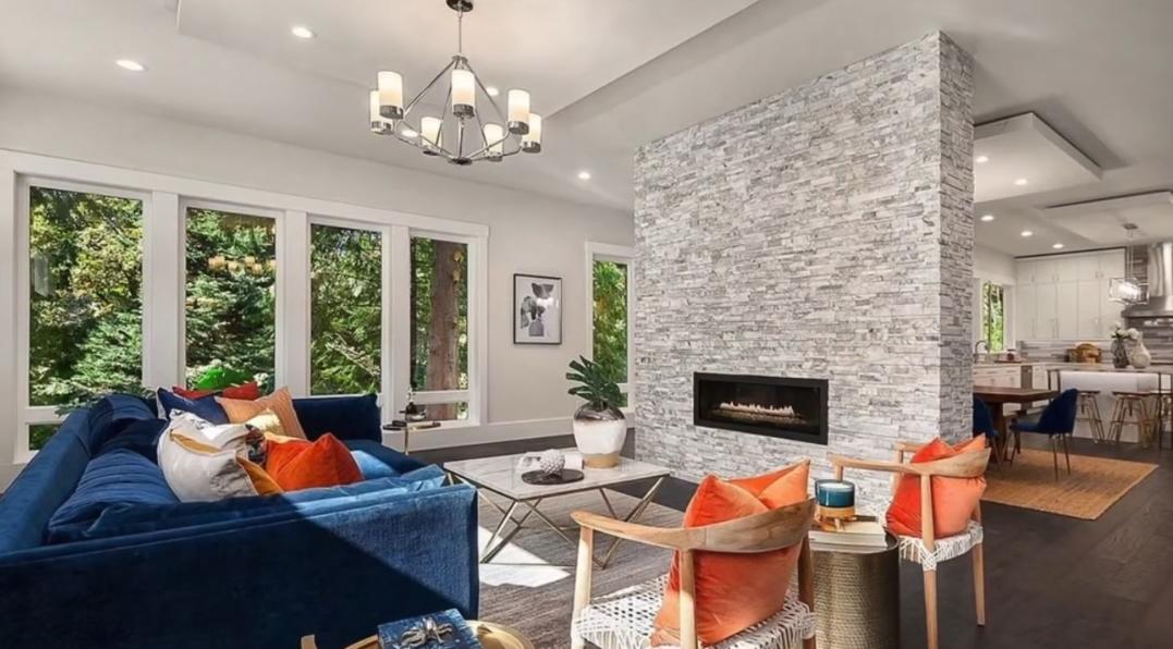 32 Interior Design Photos vs. 2629 108th Ave NE, Bellevue, WA Luxury Home Tour