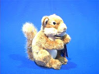 Brown Squirrel Stuffed Animal Plush Toy