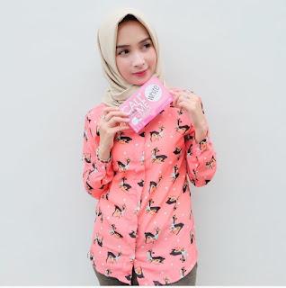 Model Baju Kerja Batik Untuk Wanita Muslim
