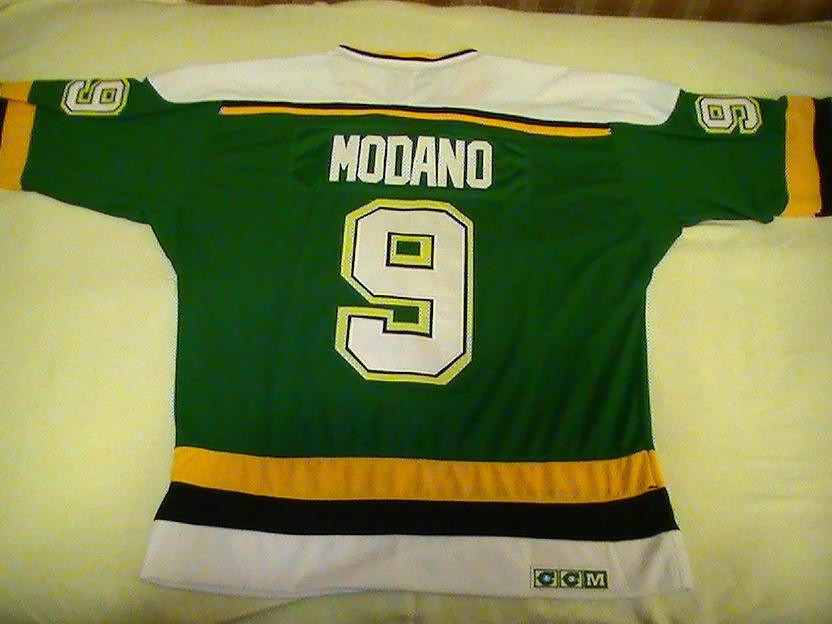 size 40 e6bda 26427 The Hockey Jersey Shore: Mike Modano Minnesota North STars ...