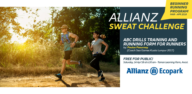Allianz Sweat Challenge - ABC Drills • 2018