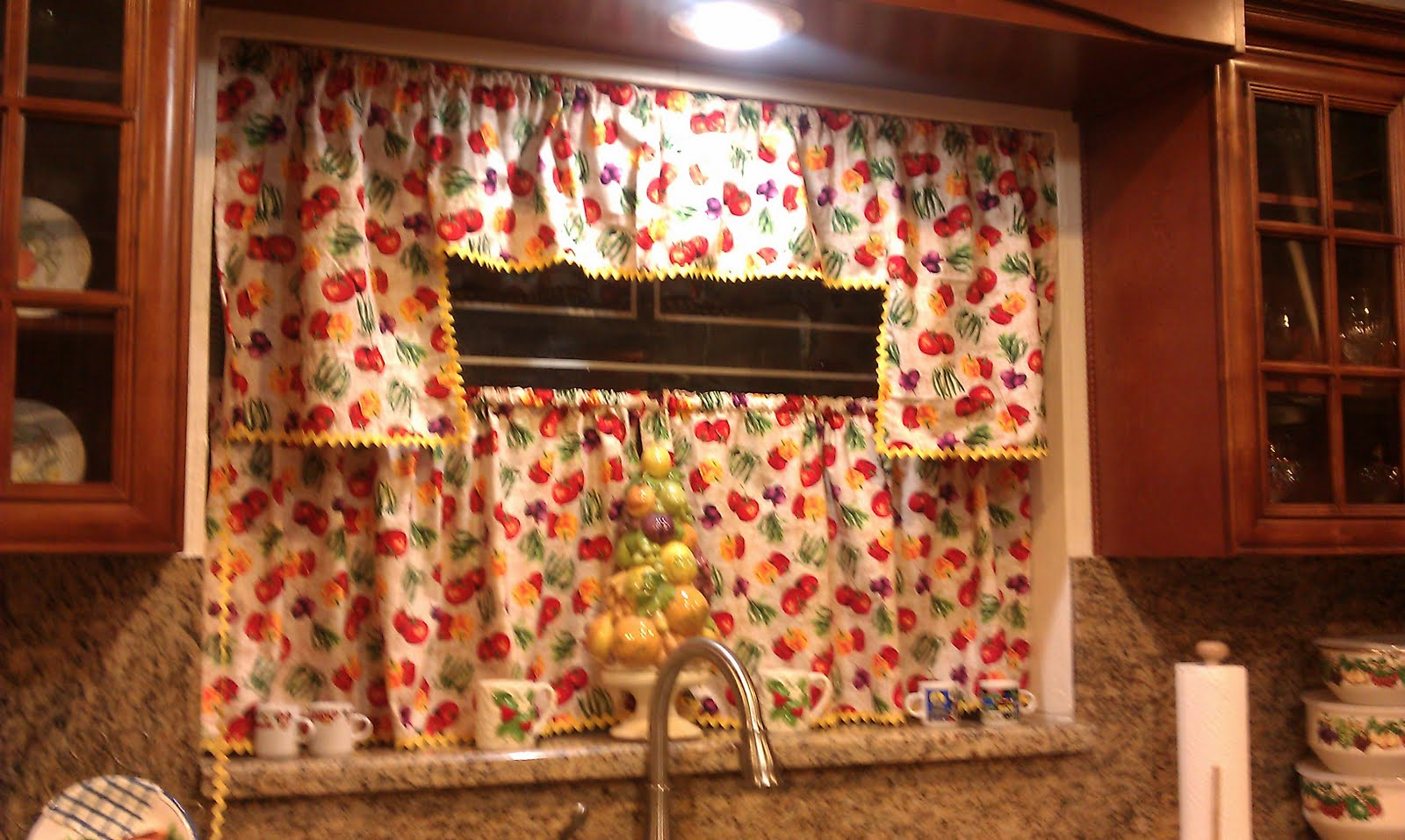 Designed By Diana Kitchen Curtains
