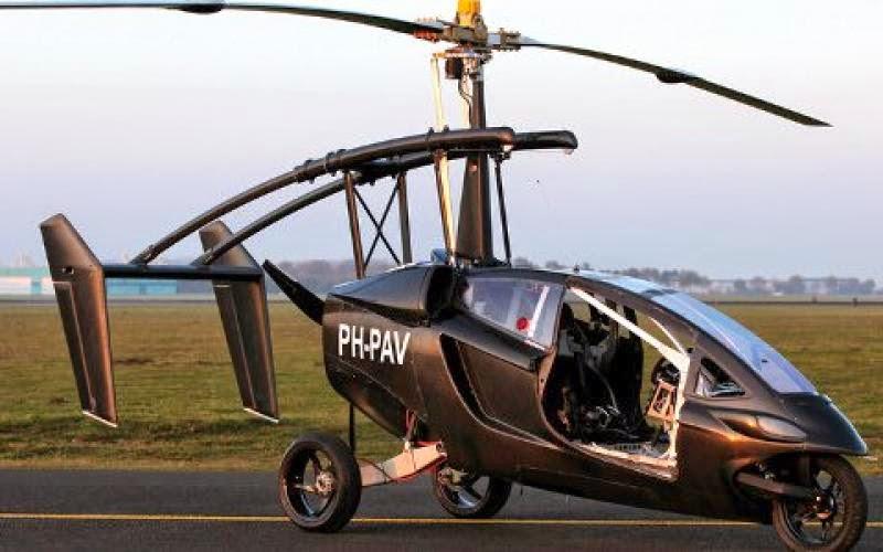 To πρώτο ιπτάμενο αυτοκίνητο στο κόσμο! [Video]