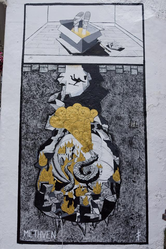Hello Freckles Edinburgh Wall Art