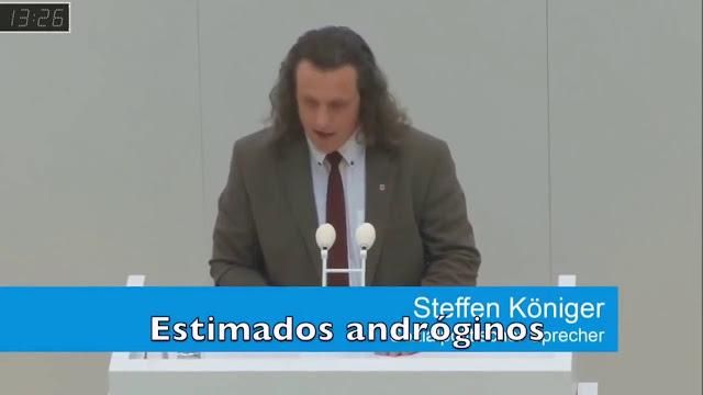 UN DIPUTADO ALEMÁN HUMILLA LA IDEOLOGÍA DE GÉNERO APLICÁNDOLA A RAJATABLA