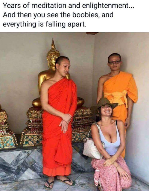 Funny Meditation And Enlightenment Meme Picture
